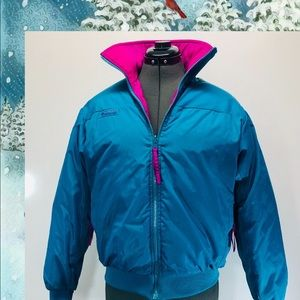 Columbia Woman's Down Reversible Jacket